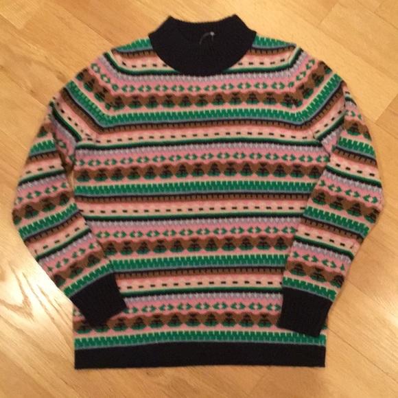 LOFT NWOT xs Multi color sweater
